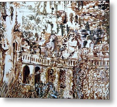 Tivili Fountains Metal Print by Mindy Newman