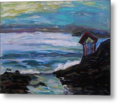 To Watch Beautiful Seas And Skies Metal Print by Mary Carol Williams