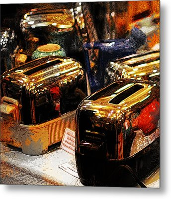 Toasters Metal Print by Simone Hester