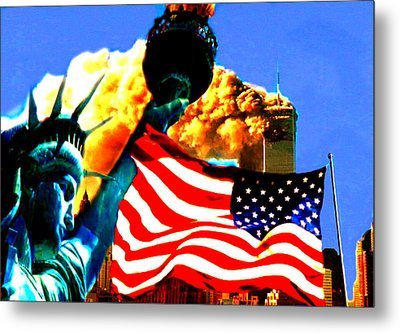Together We Stand Metal Print by Rom Galicia