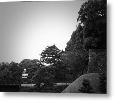 Tokyo Imperial Palace Metal Print by Naxart Studio