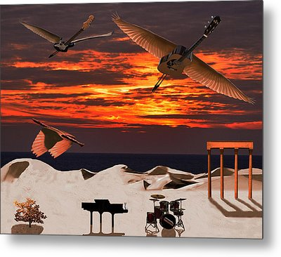 Tonights The Kind Of Night Metal Print by Eric Kempson