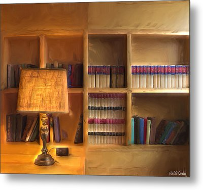 Top Pot's Library Metal Print by Heidi Smith