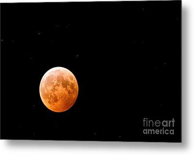 Total Lunar Eclipse Metal Print by Matt Suess