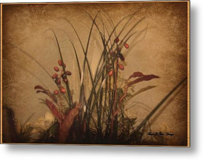 Touch Of Elegance Metal Print by Sherri  Of Palm Springs