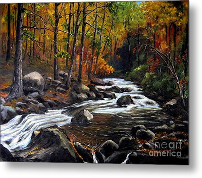 Touch Of Fall Metal Print by Ronald Tseng