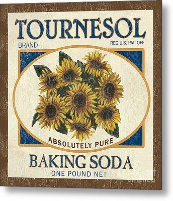 Tournesol Baking Soda Metal Print by Debbie DeWitt