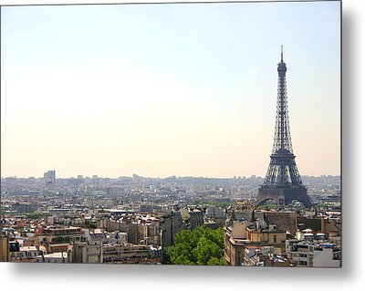 Tower Eiffel Metal Print by All right rs