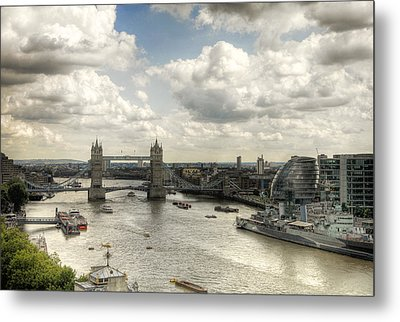 Tower View Metal Print by Gregory Warran