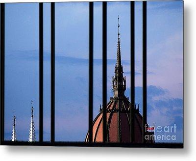 Towers Metal Print by Odon Czintos