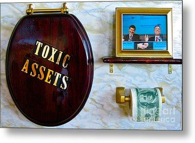 Toxic Assets Metal Print by Dawn Graham
