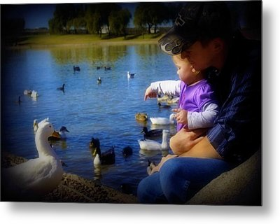 Treasure The Memories Metal Print by Amanda Eberly-Kudamik