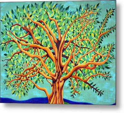 Tree Of Life Metal Print by Fraida Gutovich