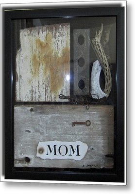 Tribute To Mom Metal Print by Snake Jagger