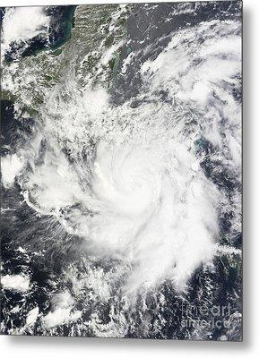 Tropical Storm Alma Metal Print by Stocktrek Images