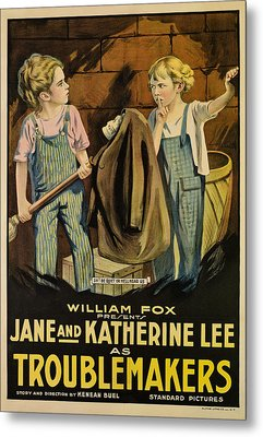 Troublemakers, Jane Lee, Katherine Lee Metal Print by Everett