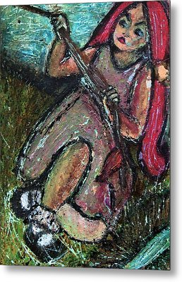 Tug Of War Metal Print by Tammy Cantrell