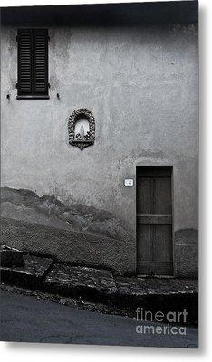 Tuscan Door Metal Print by Steven Gray