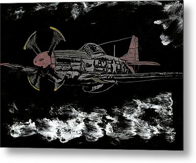 Tuskegee Night Flight Metal Print by Jim Ross