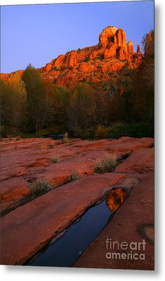 Twilight Cathedral Metal Print by Mike  Dawson