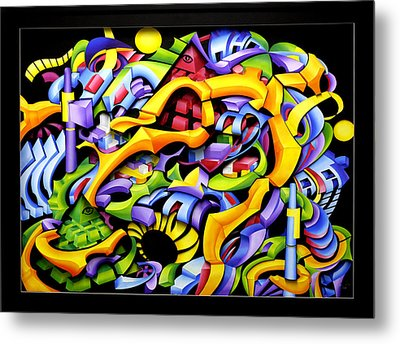 Twisted Blackout Metal Print by Jason Amatangelo
