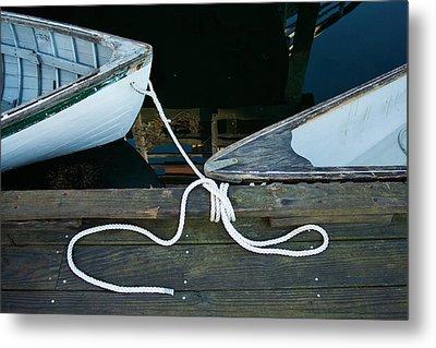 Two Bows Metal Print by Ron St Jean