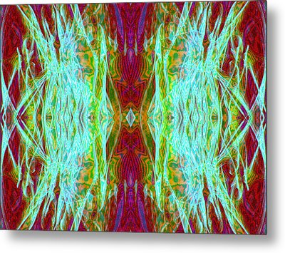 Two Fish Metal Print by Danny Lally