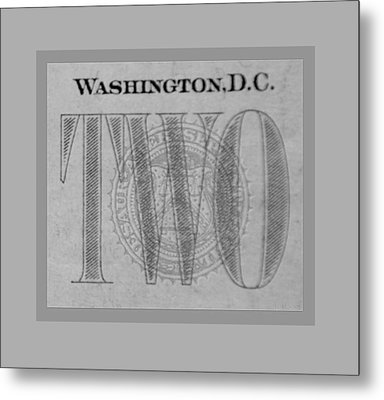 Two In Grey Metal Print by Rob Hans