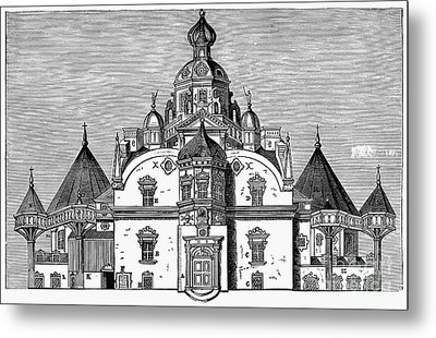 Tycho Brahes Observatory Metal Print by Granger