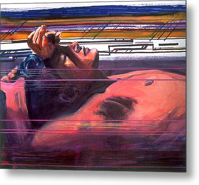 Under Lying Currents Metal Print by Rene Capone
