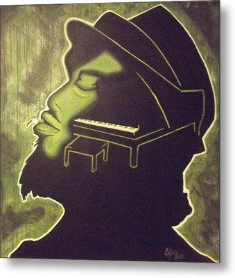 Under The Influence Metal Print by Clyde Stallworth Jr