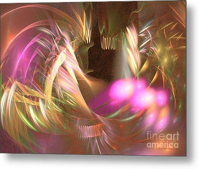 Untamed - Abstract Art Metal Print by Abstract art prints by Sipo