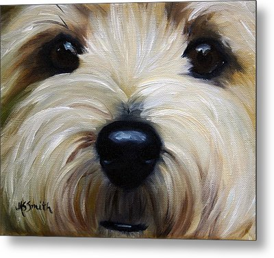 Up Close And Personal IIi Metal Print by Mary Sparrow