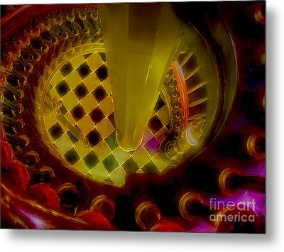 Up The Down Staircase Metal Print by Judi Bagwell
