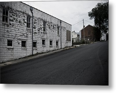Uphill Metal Print by Michael Cunsolo