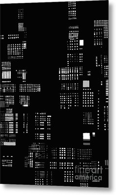 Urban Abstract Iv Metal Print by Andy  Mercer