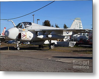 Us Fighter Jet Plane . 7d11238 Metal Print by Wingsdomain Art and Photography