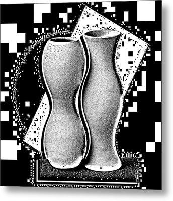 Vases Metal Print by Mauro Celotti