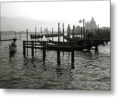 Venice Canal Grande IIi Metal Print by Nina Papiorek