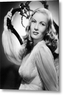 Veronica Lake, Paramount Pictures Metal Print by Everett