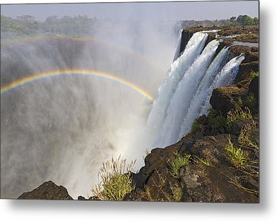 Victoria Falls, Zambia, Africa Metal Print by Yvette Cardozo