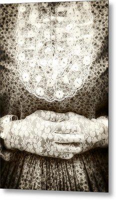 Victorian Hands Metal Print by Joana Kruse