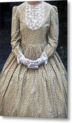 Victorian Lady Metal Print by Joana Kruse