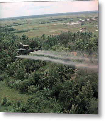 Vietnam War, Defoliation Mission Metal Print by Everett