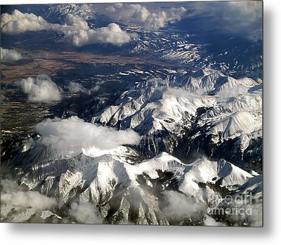 View From Above II Metal Print by Patricia Griffin Brett