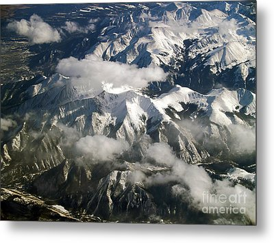 View From Above Metal Print by Patricia Griffin Brett