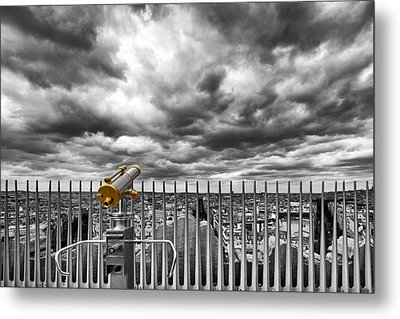 View Over The Roofs Of Paris Metal Print by Melanie Viola