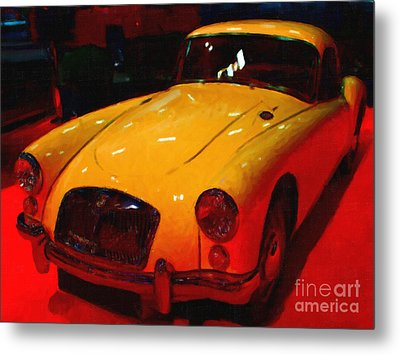 Vintage Mg Metal Print by Wingsdomain Art and Photography