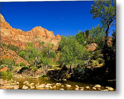 Virgin River Metal Print by Greg Norrell