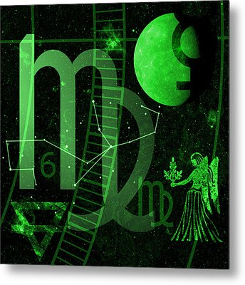 Virgo Metal Print by JP Rhea